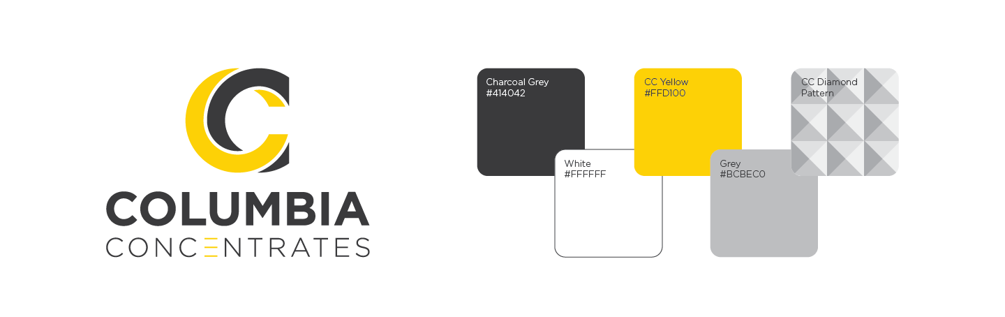 Columbia Concentrates Branding
