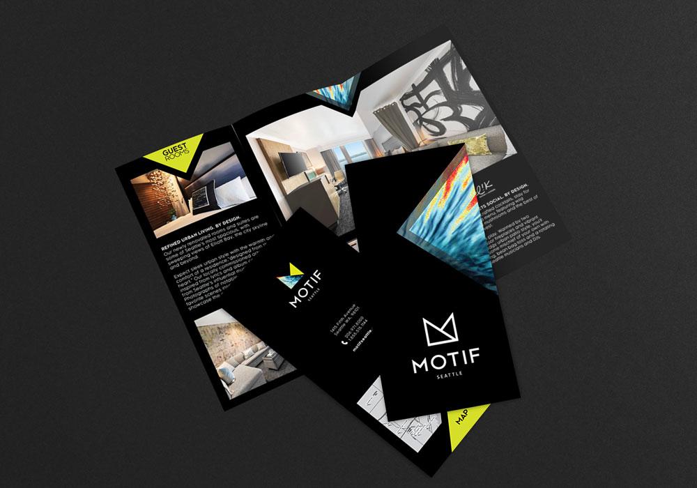 Motif Trifold Mockup