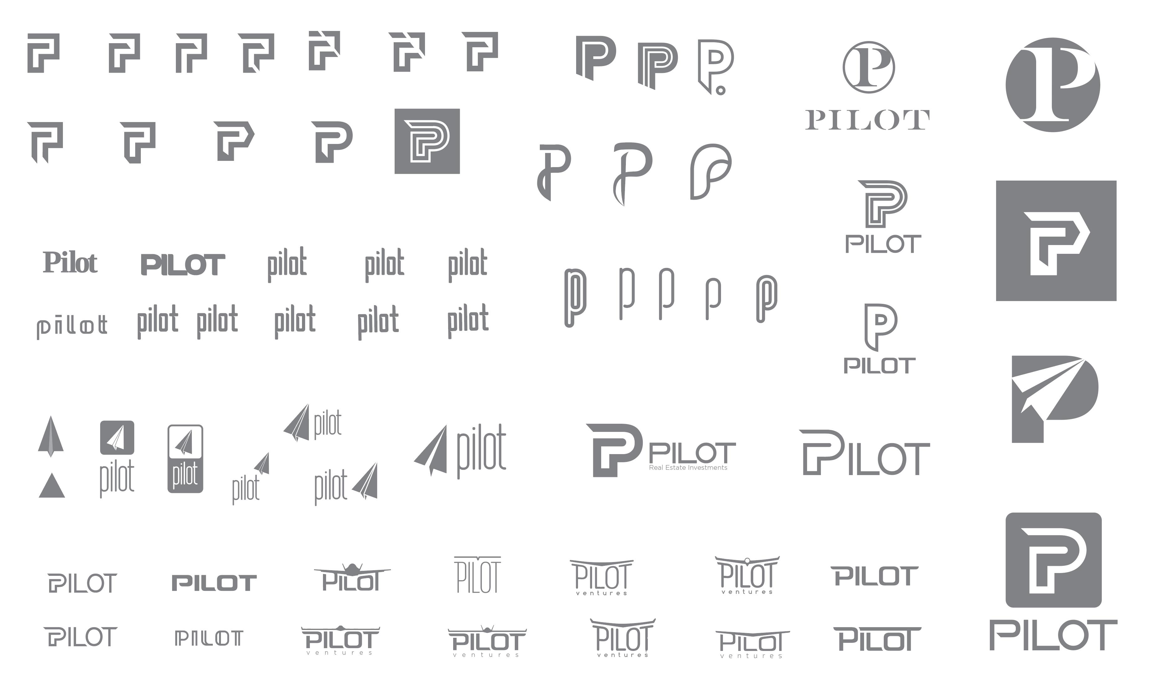 Pilot Logo Iterations