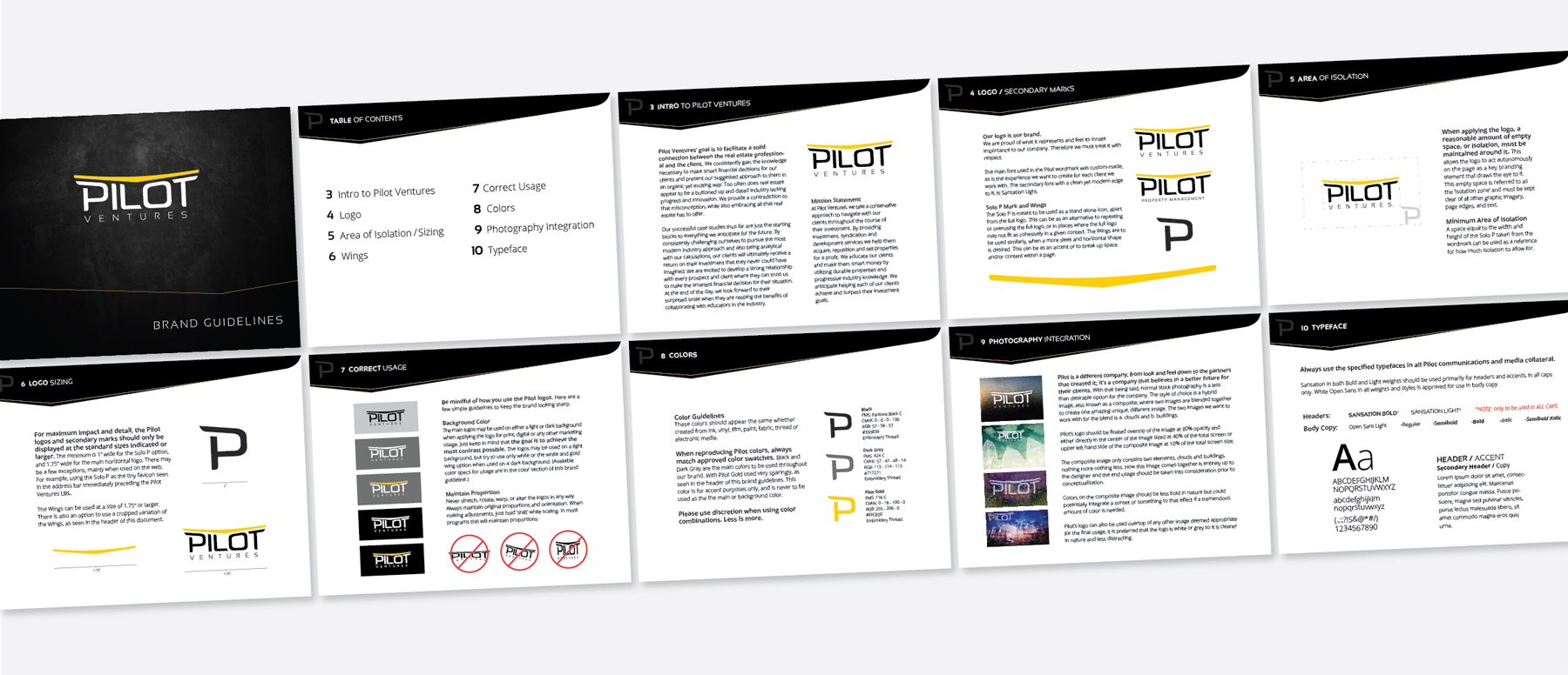 Pilot Brand Guidelines