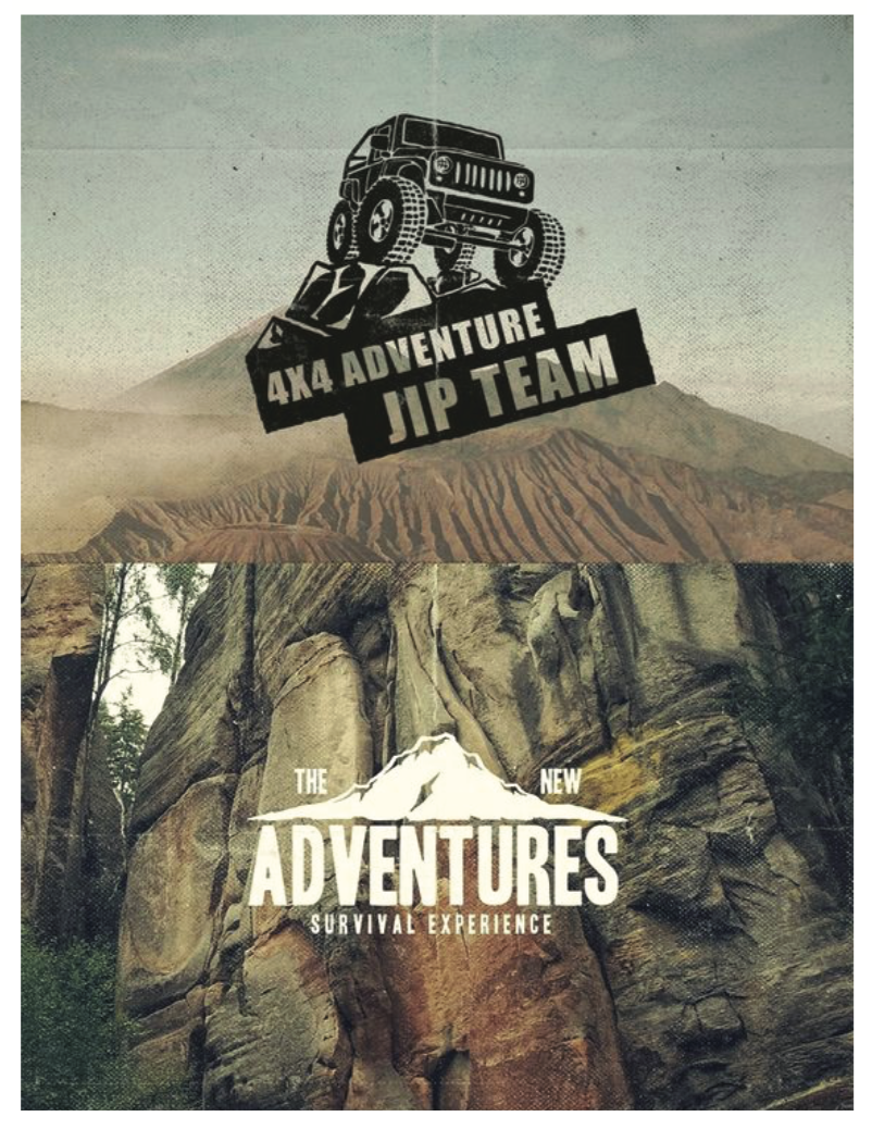 Mood Board Images - Adventure logos